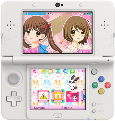 Japan nintendo 3ds new themes of the week march 4th 3g ccuart Images