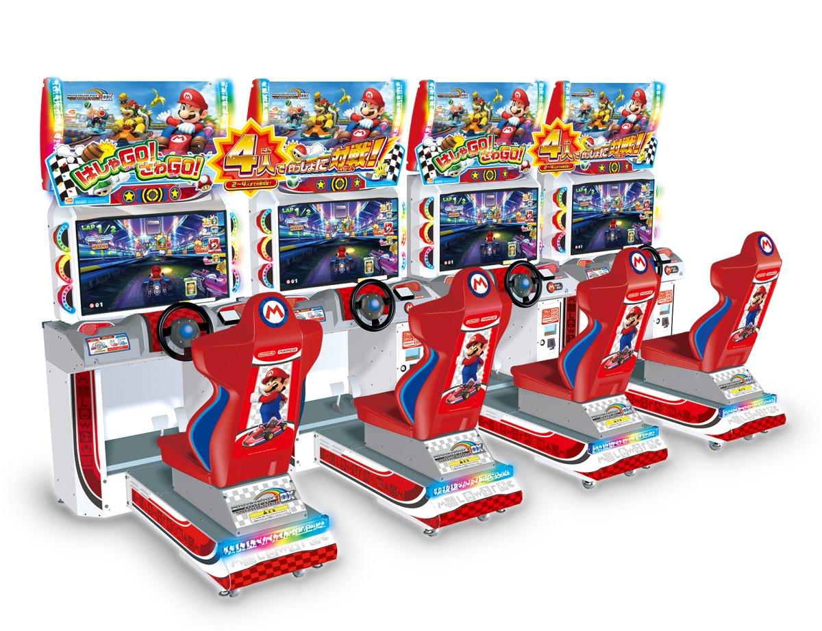mario kart dx arcade machine
