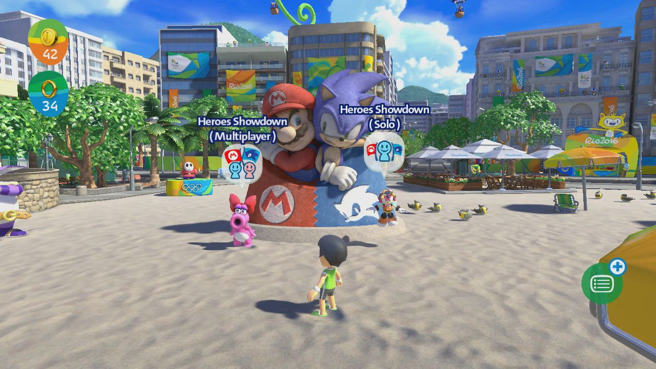 0e3c75e8a Mario Sonic Olympic Games Wii U   Mario sonic at the rio olympics details  and