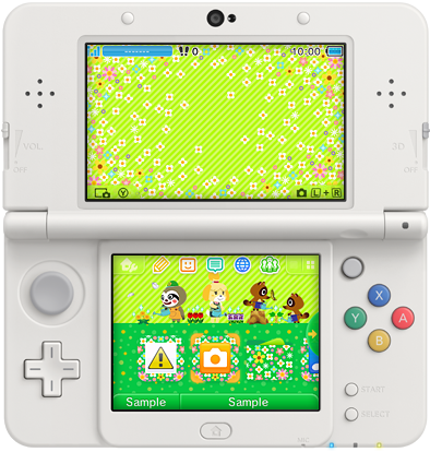 north america nintendo 3ds themes of the week april 14 perfectly nintendo. Black Bedroom Furniture Sets. Home Design Ideas