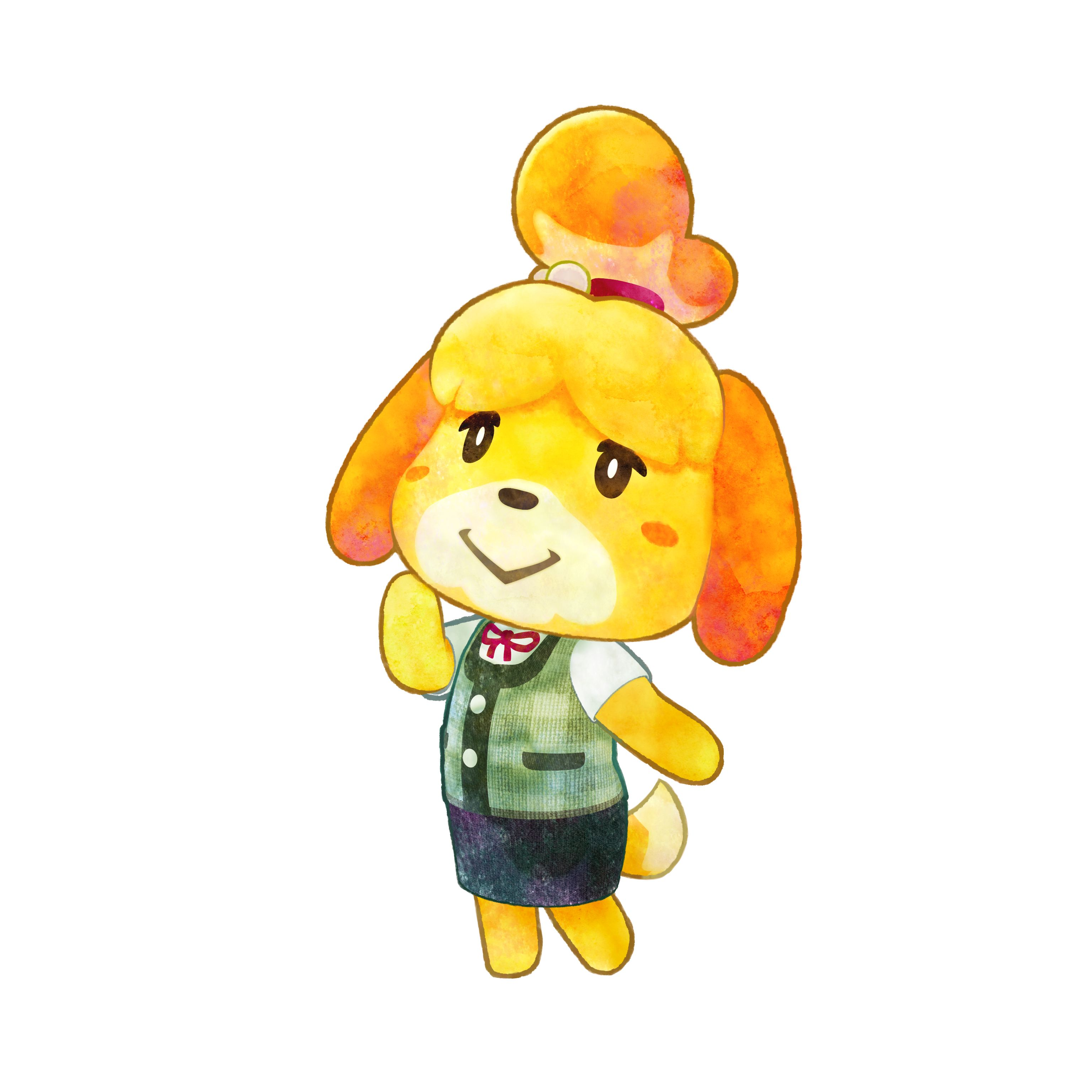 Animal Crossing - Happy Home Designer: a couple of artworks ...