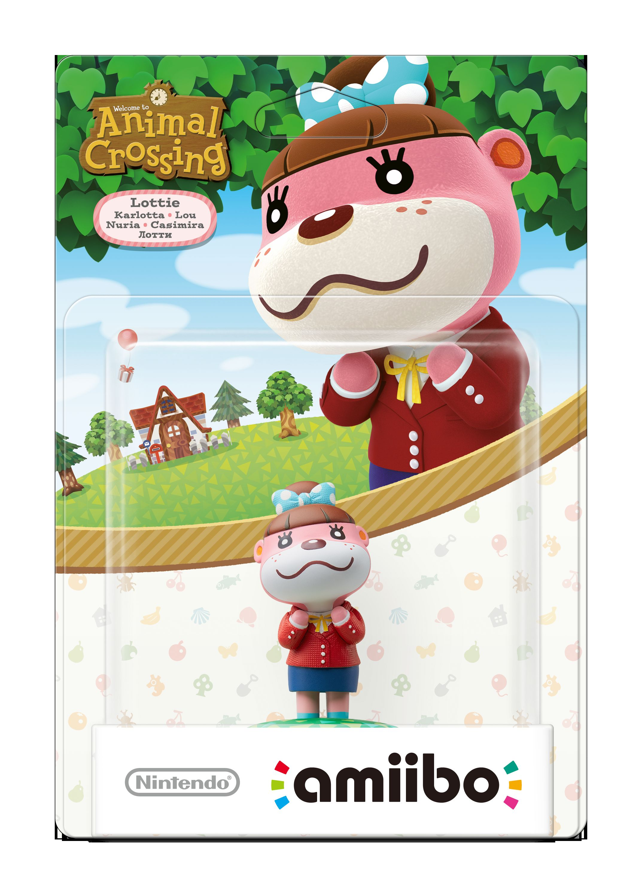 Europe Packaging For The Animal Crossing Amiibo New 3ds