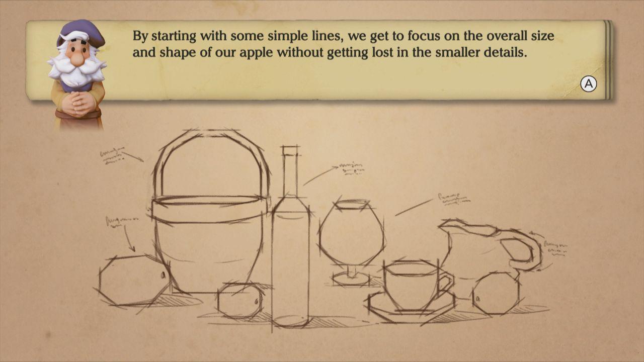 Wii U Art Academy Lessons #1