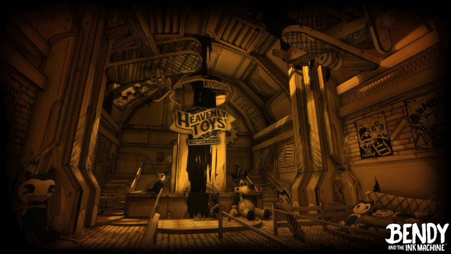 Bendy and the Ink Machine headed to the Nintendo Switch ...