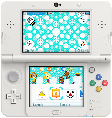 japan nintendo 3ds themes of the week jan 6th sale perfectly nintendo. Black Bedroom Furniture Sets. Home Design Ideas