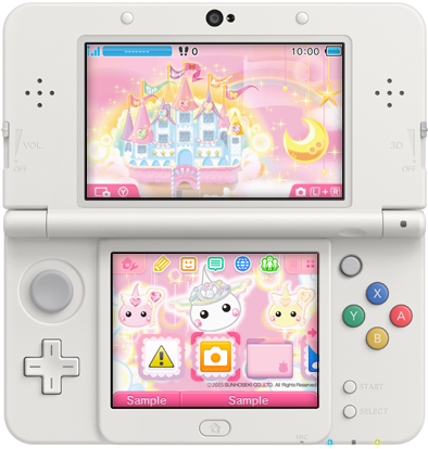 Japan nintendo 3ds new themes of the week may 13th perfectly 13g ccuart Images