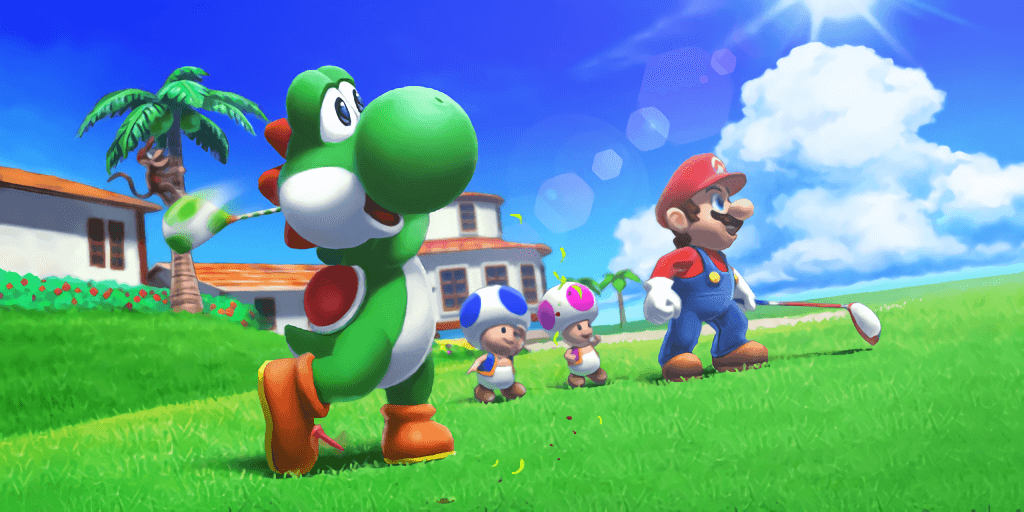 mario sports superstars opening more footage