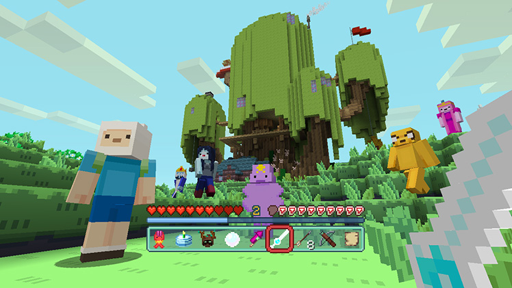 Minecraft Wii U Switch Adventure Time Mash Up Pack