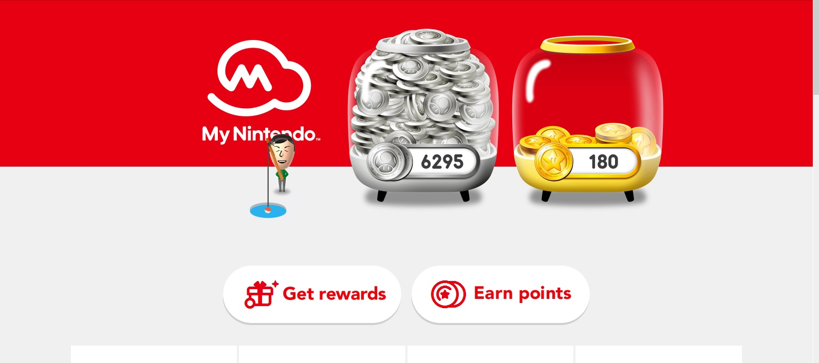 My Nintendo: website redesign now live, list of changes - Perfectly Nintendo