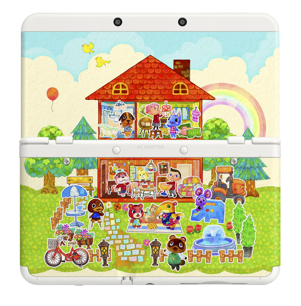 Animal Crossing New Leaf New Home Designer