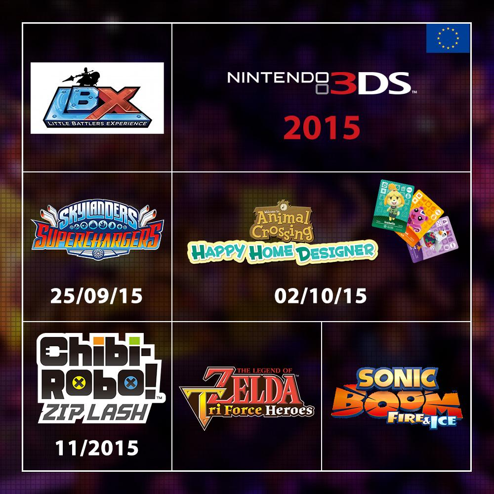 Wii U Games Line Up : Nintendo wii u and ds line up for early