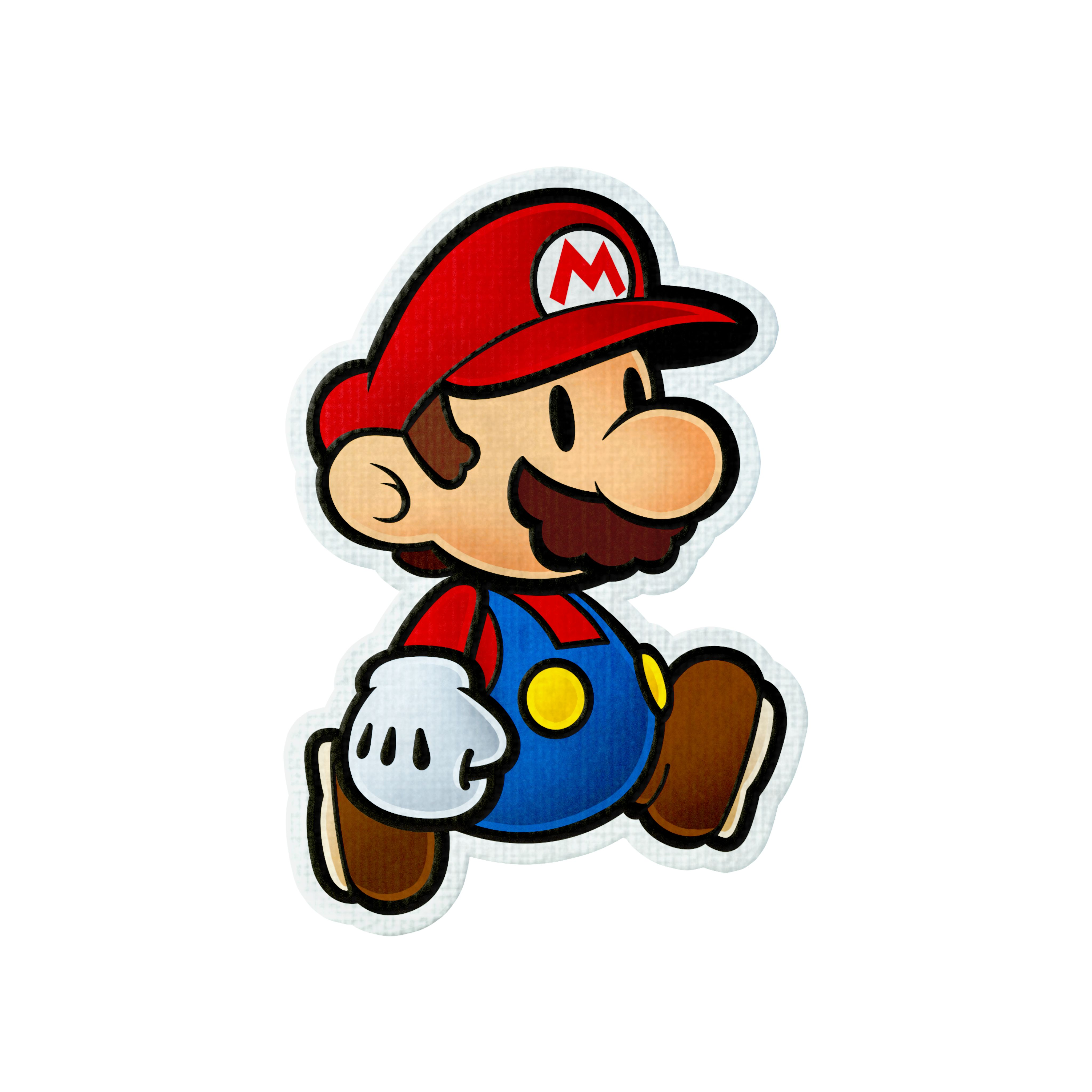 Daily briefs oct 7 round 2 2ds paper mario color for What color is mario