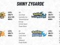 Pokemon USUM SM Shiny Zygarde