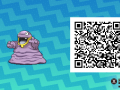 Pokemon Sun and Moon QR Codes (135)