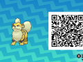 Pokemon Sun and Moon QR Codes (142)