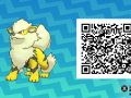 Pokemon Sun and Moon QR Codes (144)