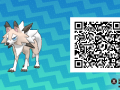 Pokemon Sun and Moon QR Codes (271)