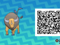 Pokemon Sun and Moon QR Codes (307)