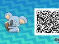 Pokemon Sun and Moon QR Codes (392)