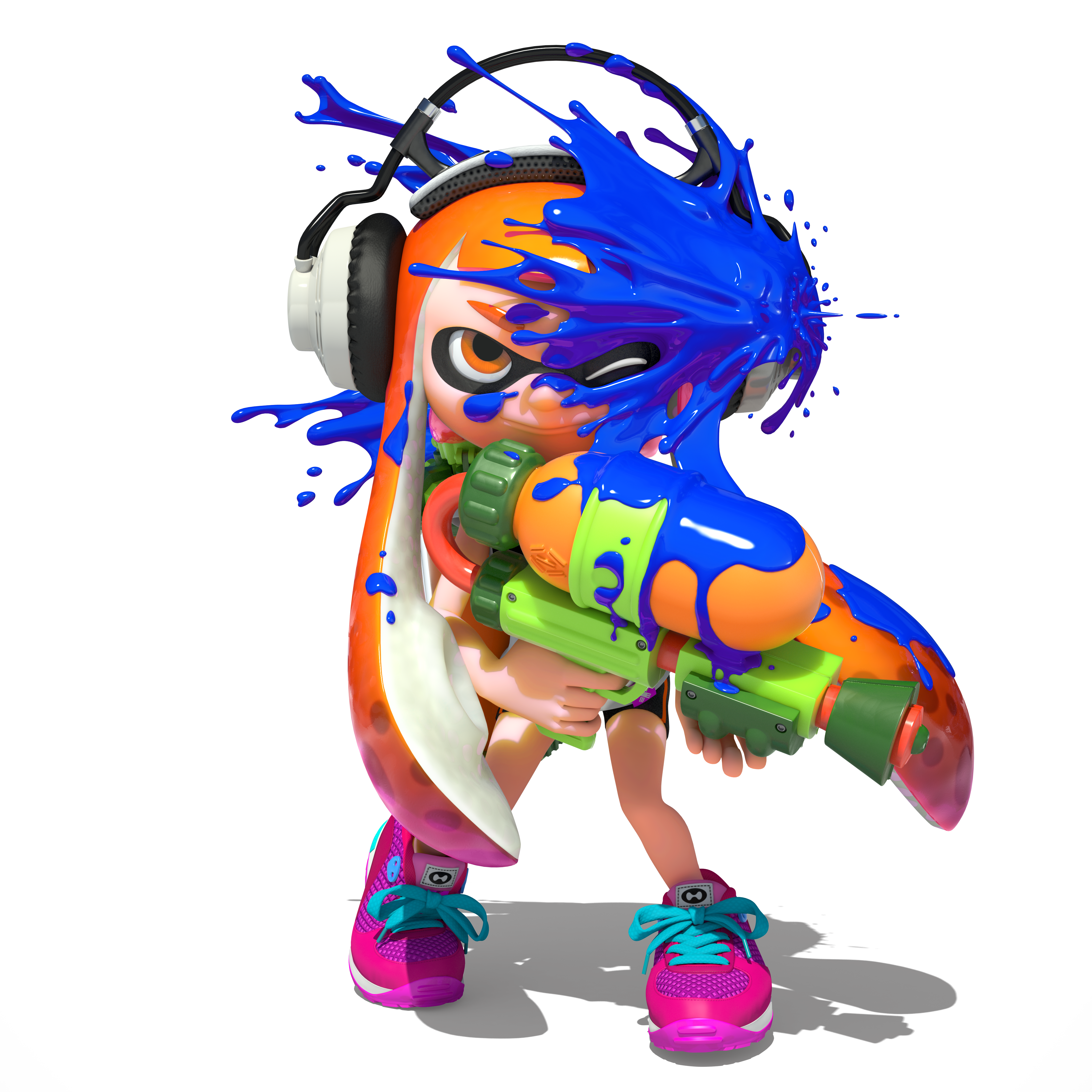 Up Screens Splatoon New Batch Of Artworks And