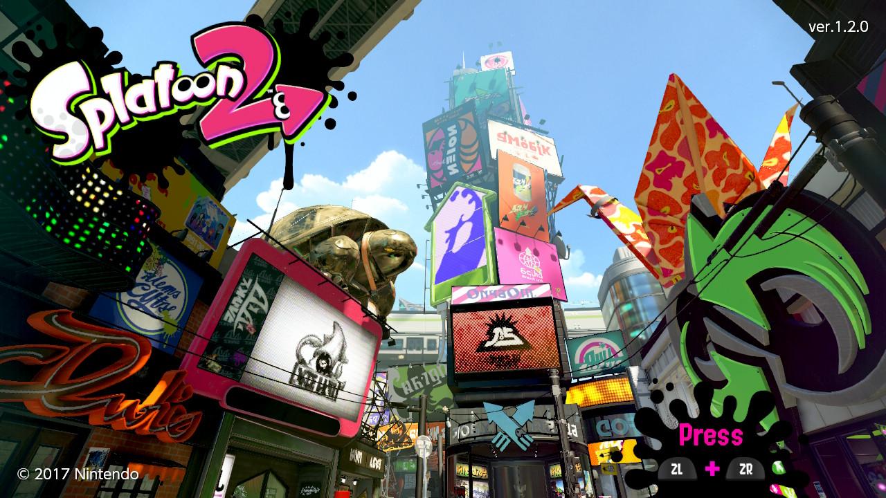 splatoon 2 version 1 4 0 incoming next week gonintendo