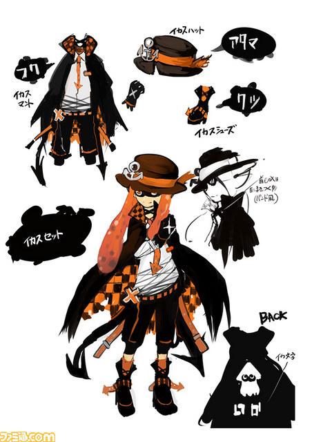 Splatoon Results Of Famitsu S Squid Fashion Contest