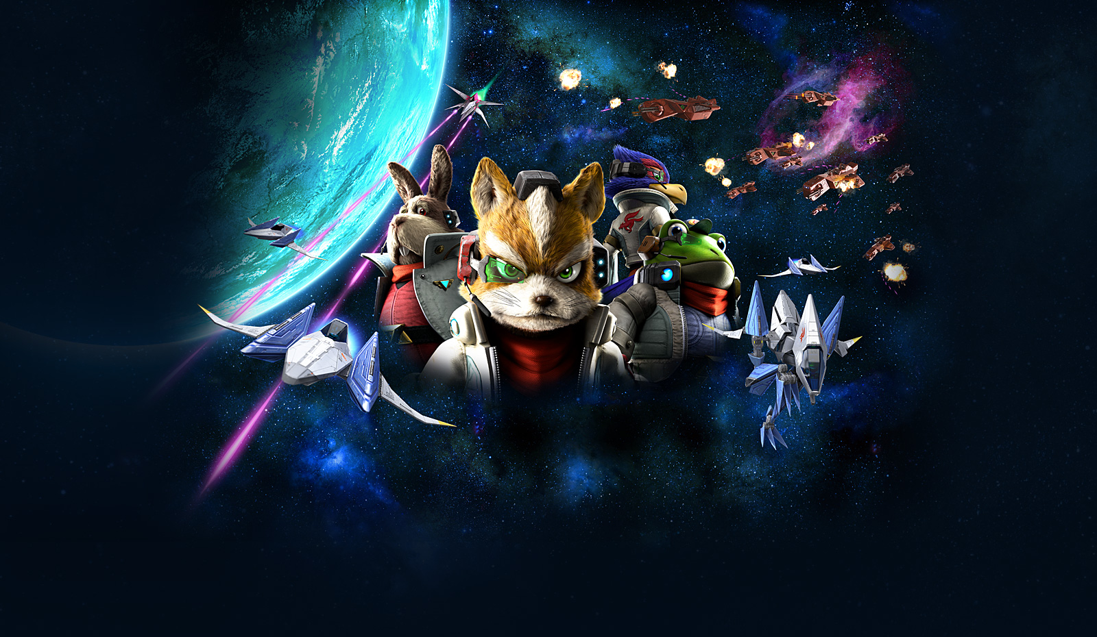 star fox snes wallpaper