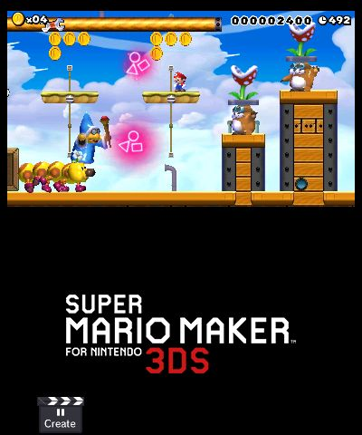Nintendo news nov 30 nes mini uk super mario maker for 3ds super mario maker for nintendo 3ds 3ds comes out tomorrow in japan and on december 2nd in europe and north america ccuart Images