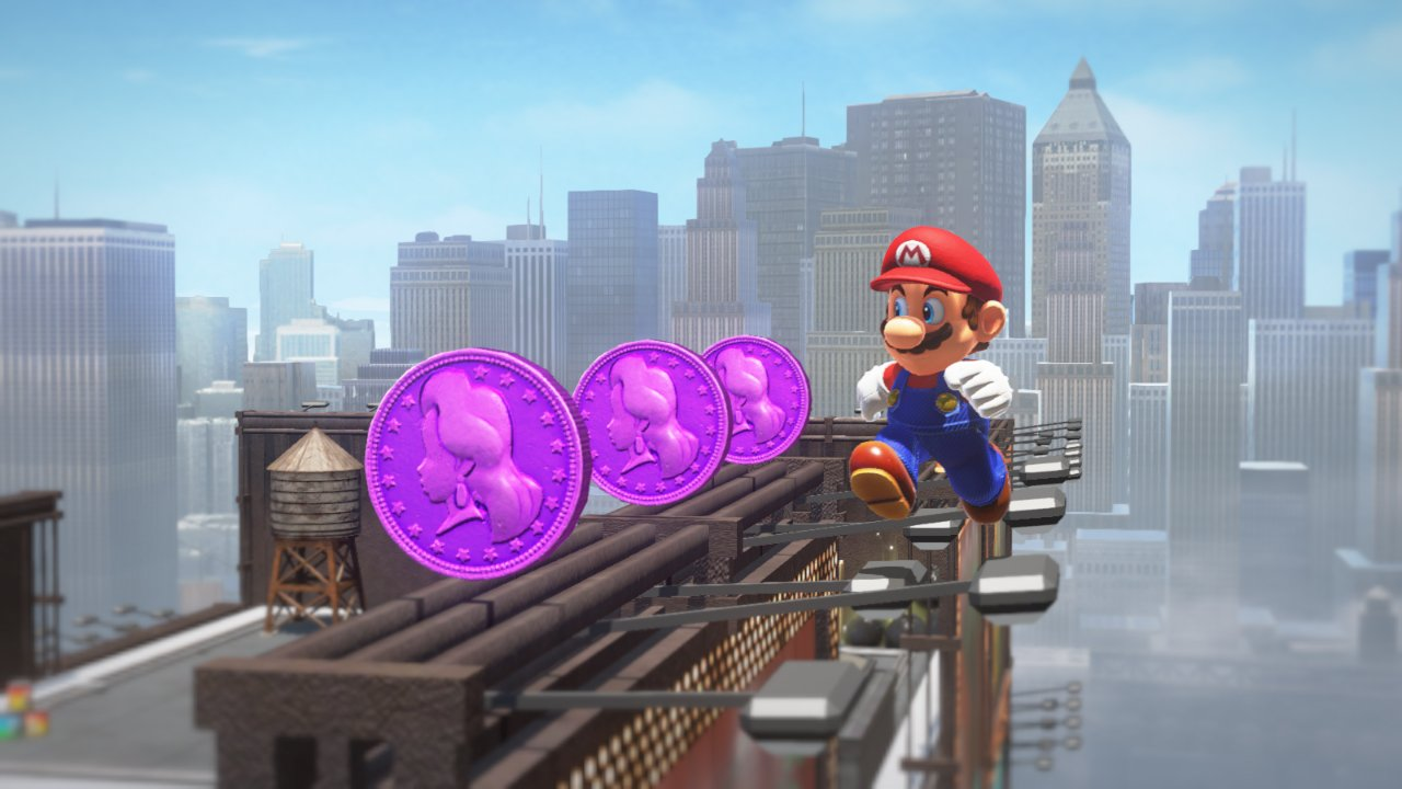 Super Mario Odyssey New Donk City Regional Coins
