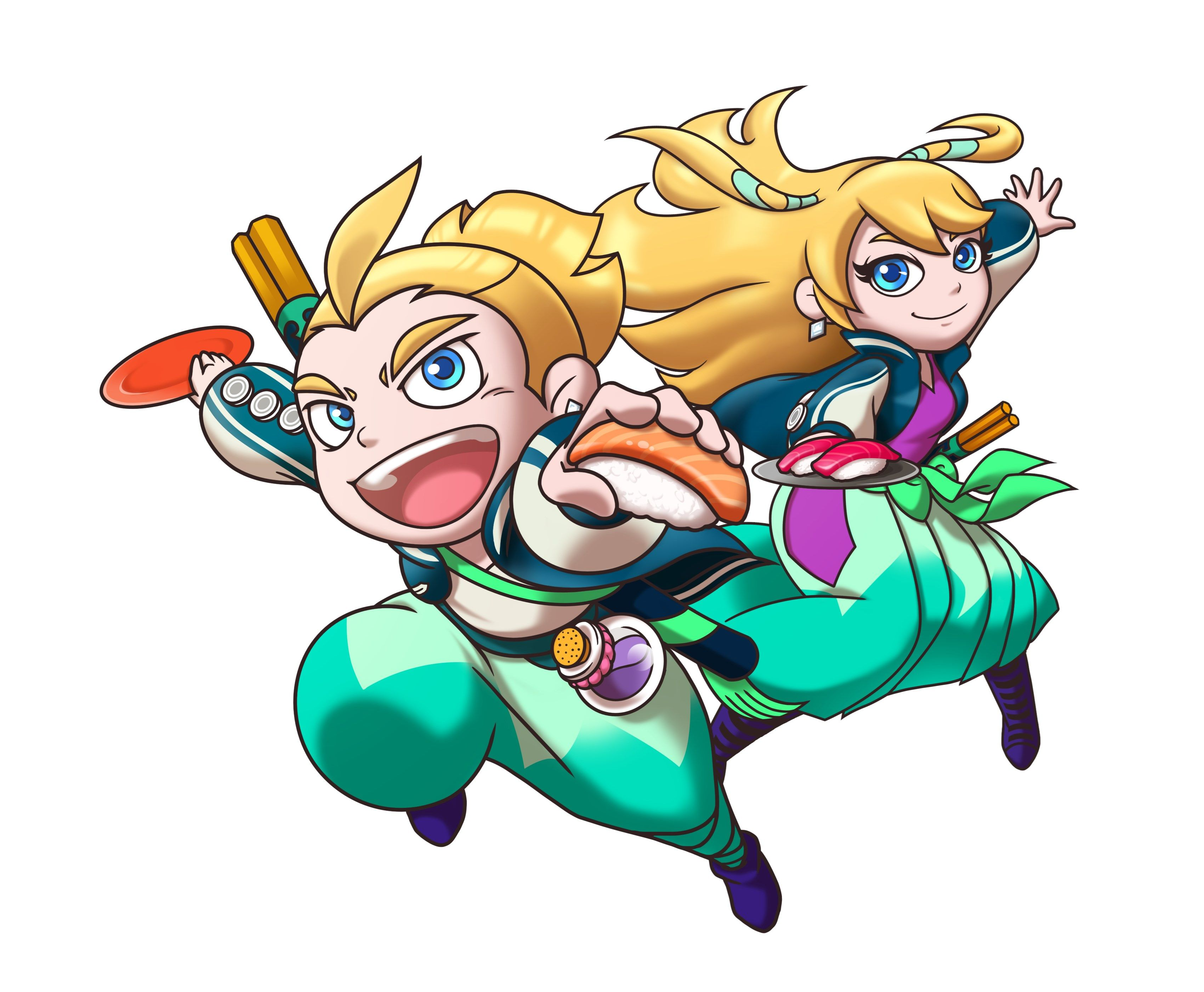 sushi striker the way of sushido now also coming to the