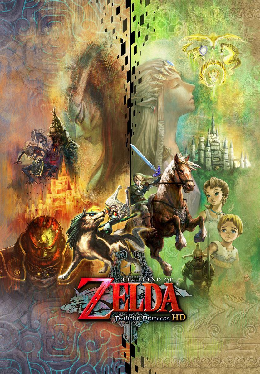 Zelda - Twilight Princess HD: artworks, renders / Hyrule ...