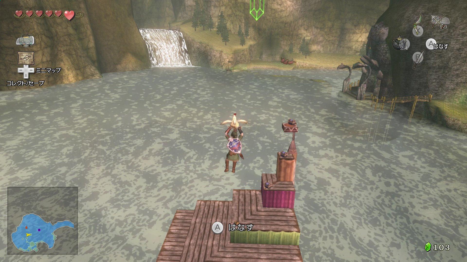 how to get past snowpeak ruins in twilight princess