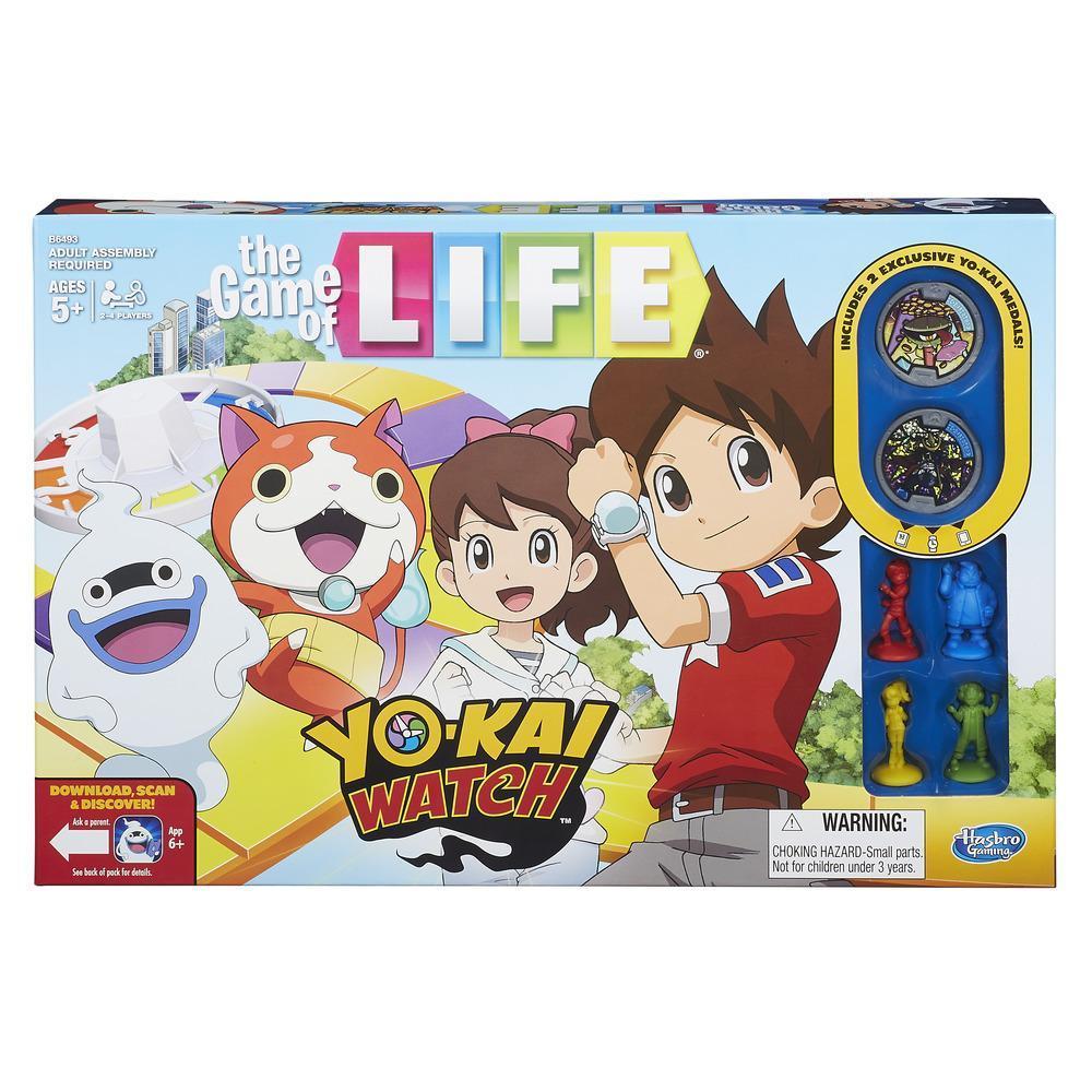Yo kai watch game of life and monopoly junior coming soon for Decoration yo kai watch