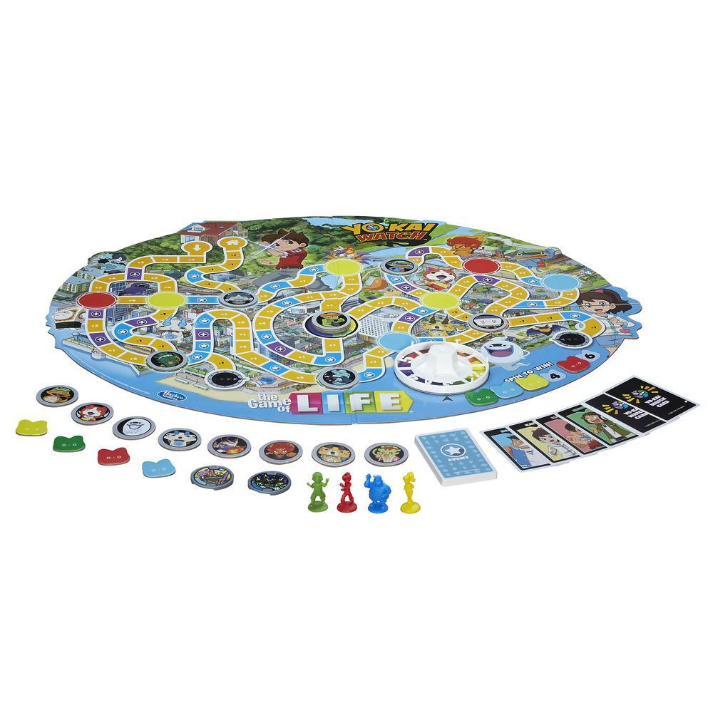 Yo-kai Watch Game of Life and Monopoly Junior coming soon  sc 1 st  Perfectly Nintendo : tableware for life - pezcame.com