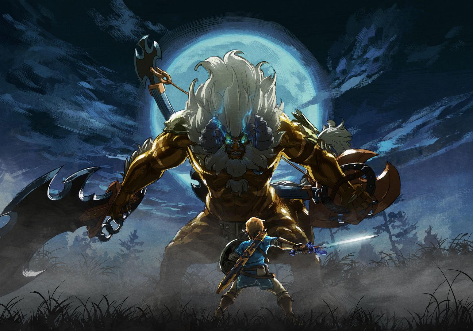 the legend of zelda breath of the wild new trailer and