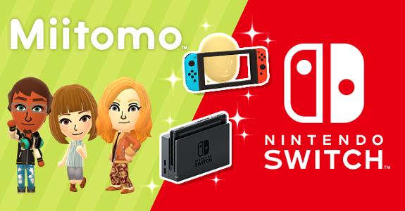 Miitomo x Nintendo Switch