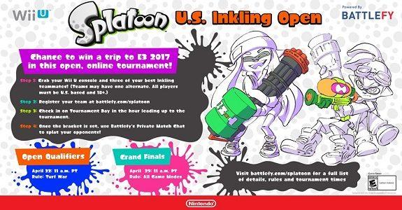 Splatoon U.S. Inkling Open 1