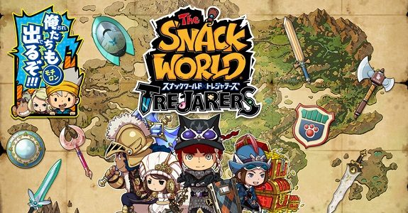 The Snack World: Trejarers