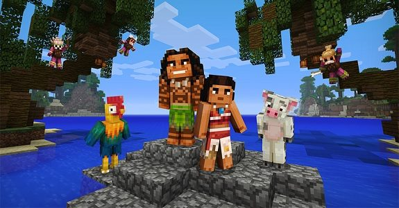 Minecraft Getting Moana Character Pack And Skin Pack Feat Master - Skins para minecraft pc demo