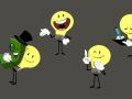 Lightbulb poses