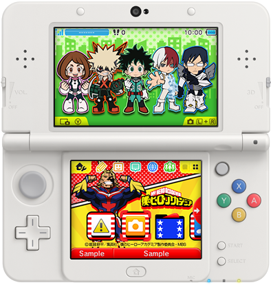 Japan Nintendo 3ds Themes Of The Week June 22nd