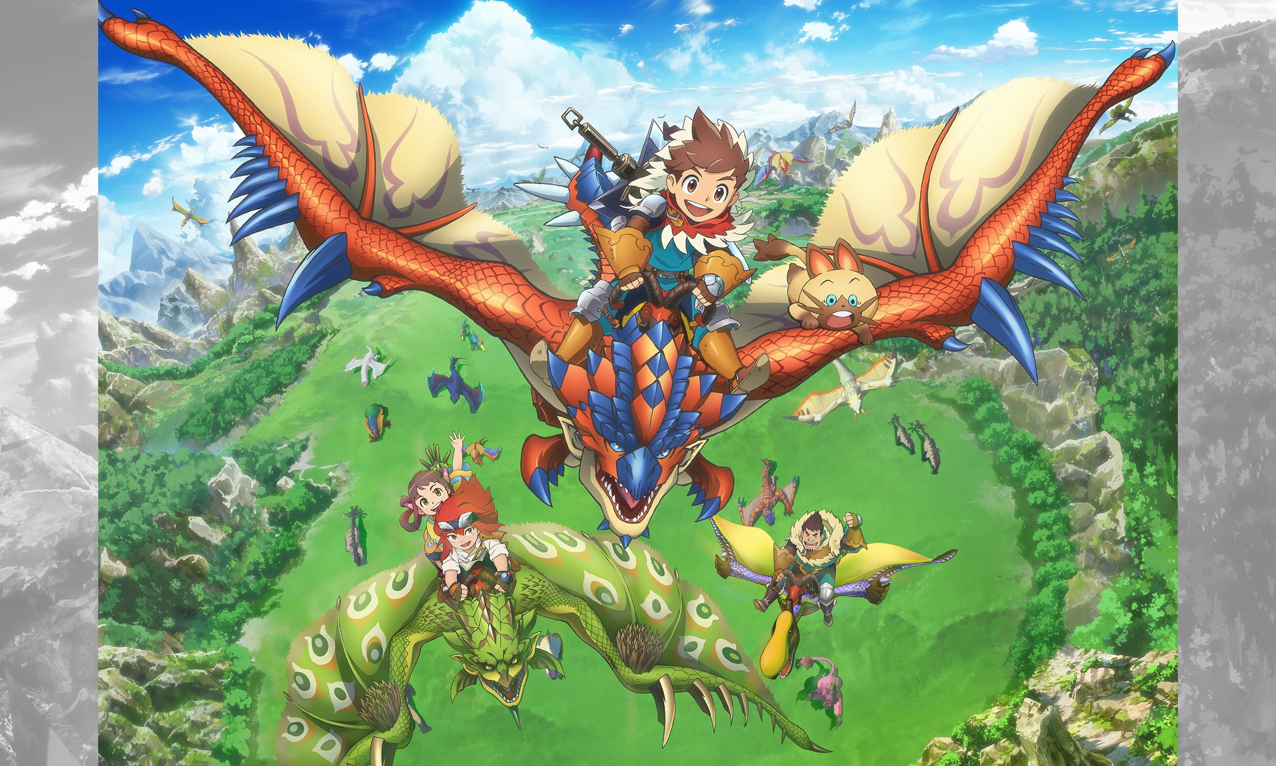 Monster Hunter Stories: Ride On (anime): first trailer and ...