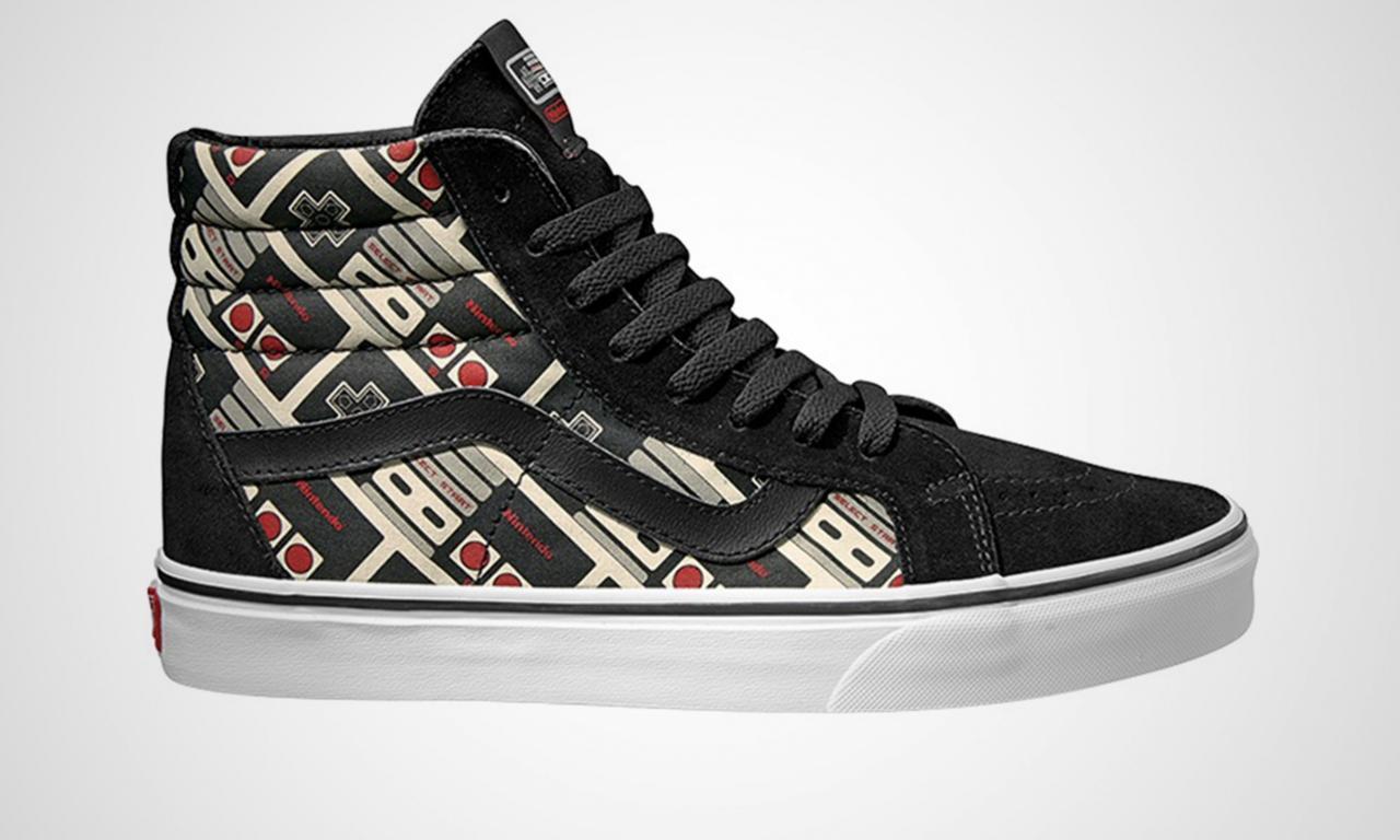 17afc94169 Nintendo  Vans sneakers coming this Summer - Perfectly Nintendo