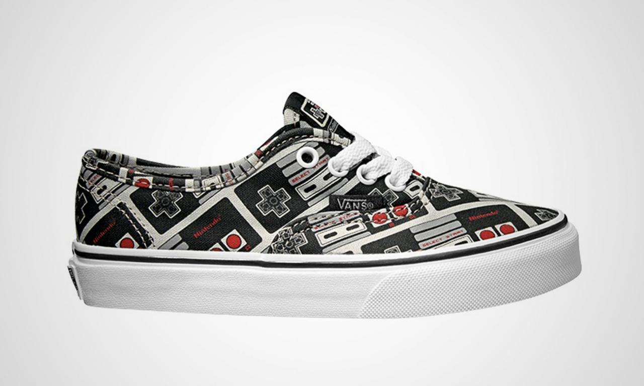 14c8e959229842 Nintendo  Vans sneakers coming this Summer - Perfectly Nintendo