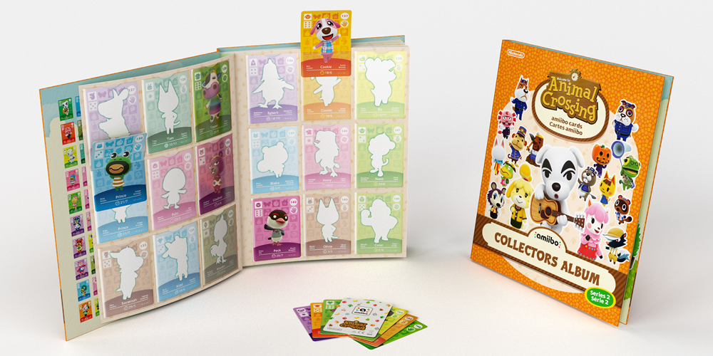 Animal crossing 2nd series of amiibo cards album out on nov 20th quantities are bound to be limited so make sure to place an order as soon as possible if youre interested in this collectors album m4hsunfo
