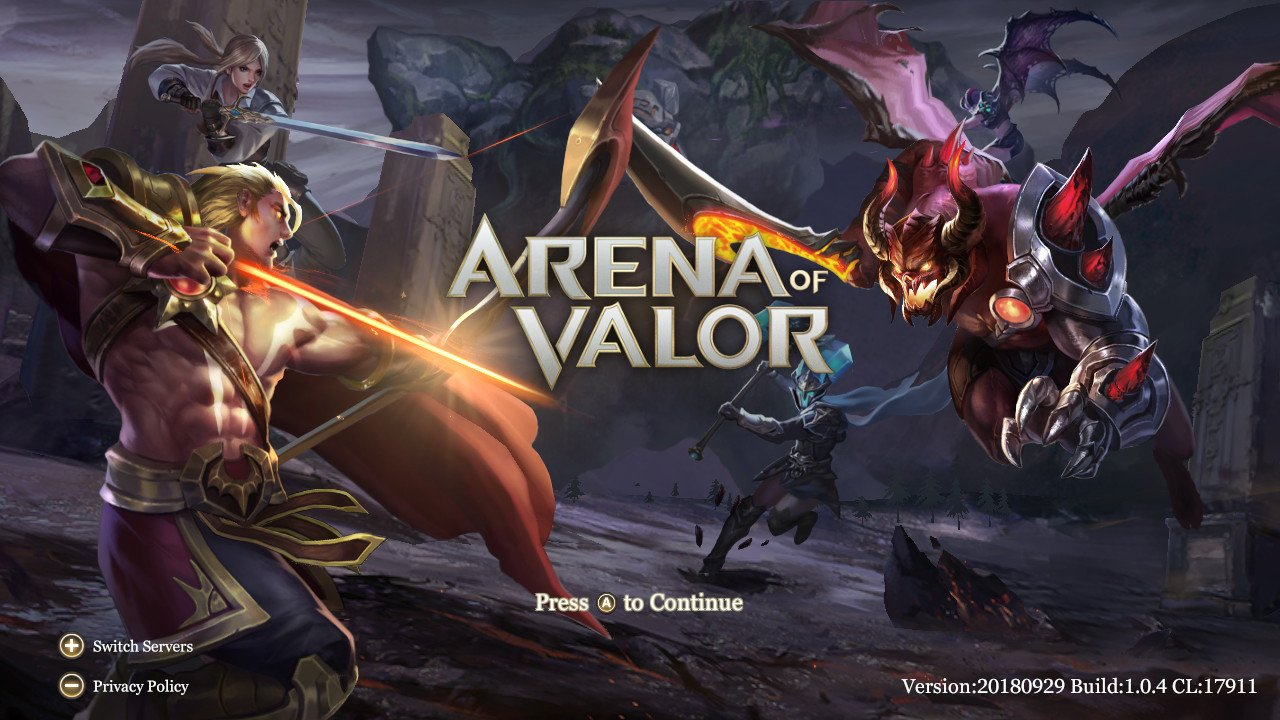 Arena of Valor (Switch): New Heroes [February 2019