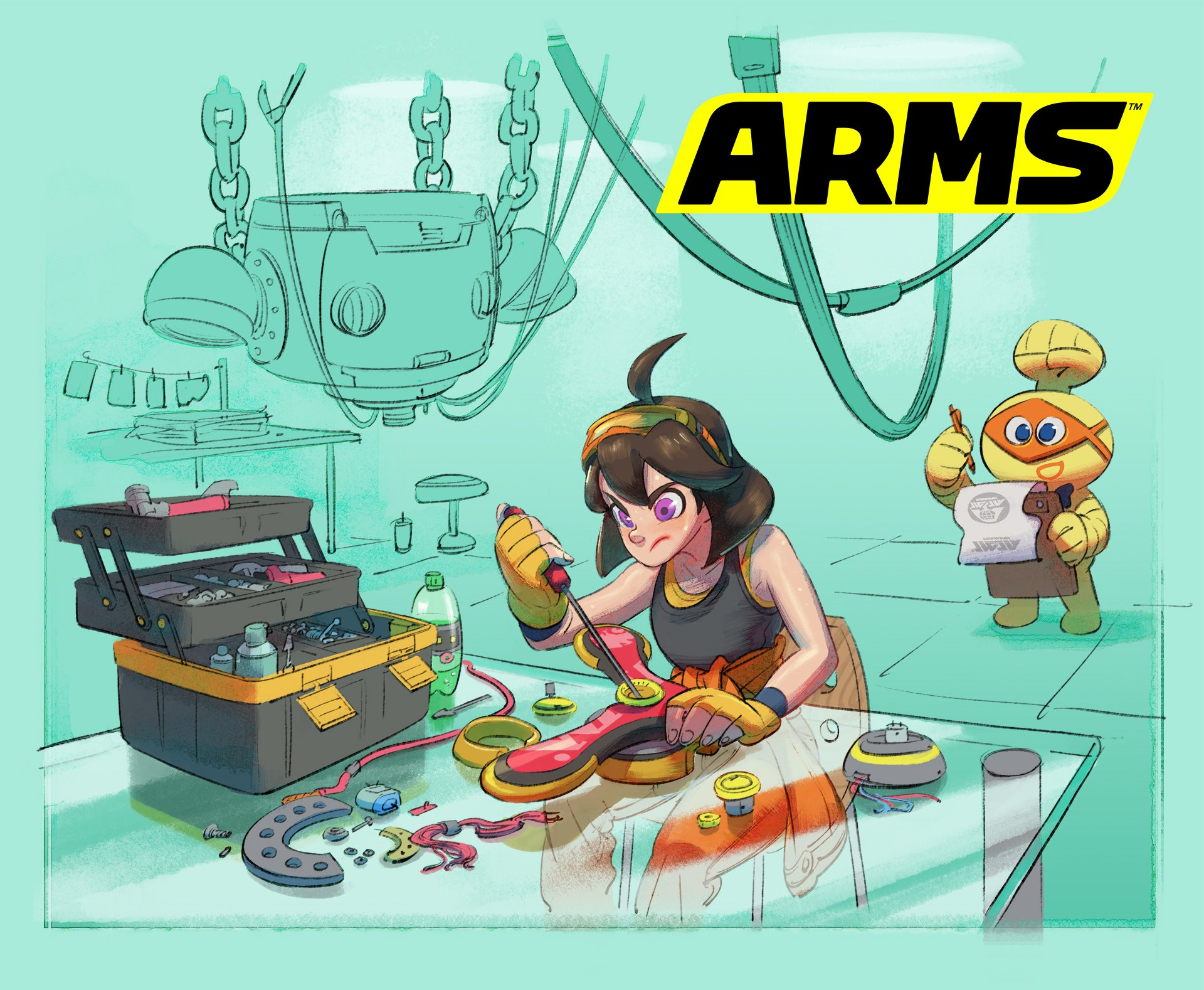 ARMS (Switch): Software updates (latest update: Ver. 5.4.0 ...