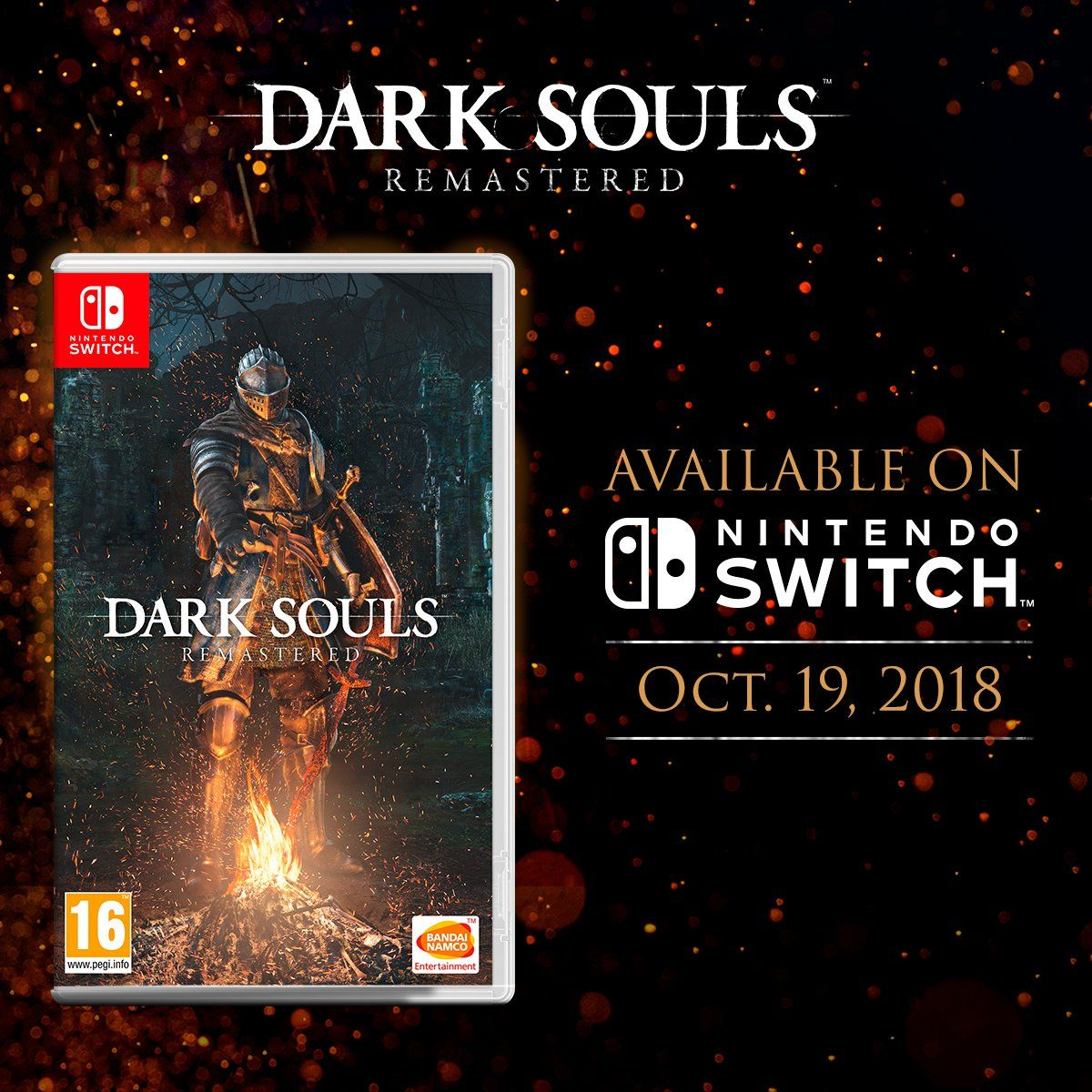 Dark Souls Remastered (and Solaire of Astora amiibo) now releasing