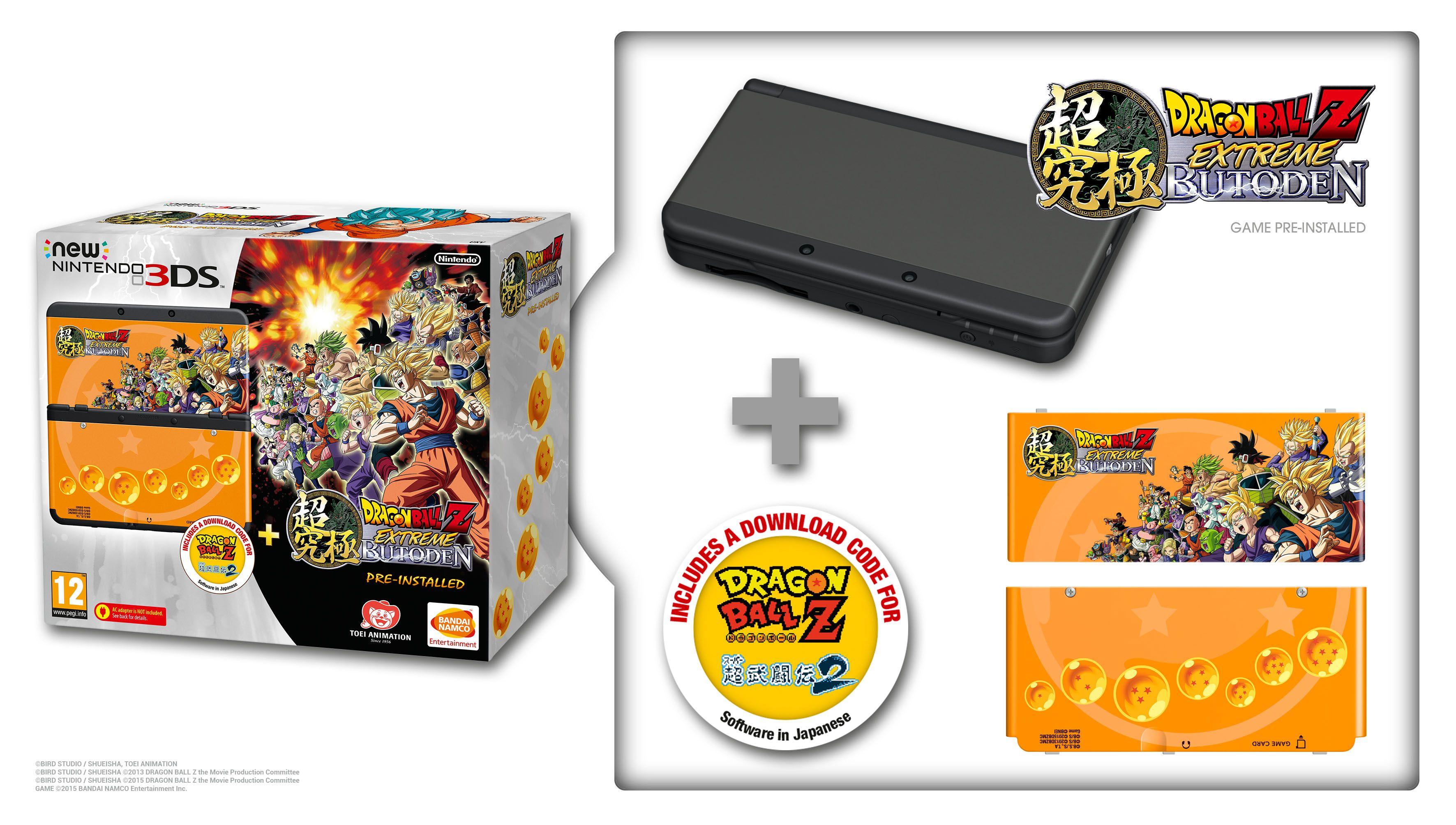 Muestran DBZ Extreme Butoden bundle con 3DS - PR Gamer