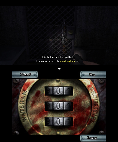 Brief] Dementium Remastered: some screens, list of controls